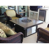4 Foot Square You-Design-It Custom Made Fire Pit Table