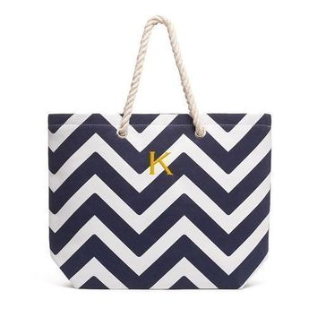 Extra Large Cabana Tote Bag - Navy (Pack of 1)