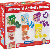 Guidecraft Barnyard Activity Boxes - G5059