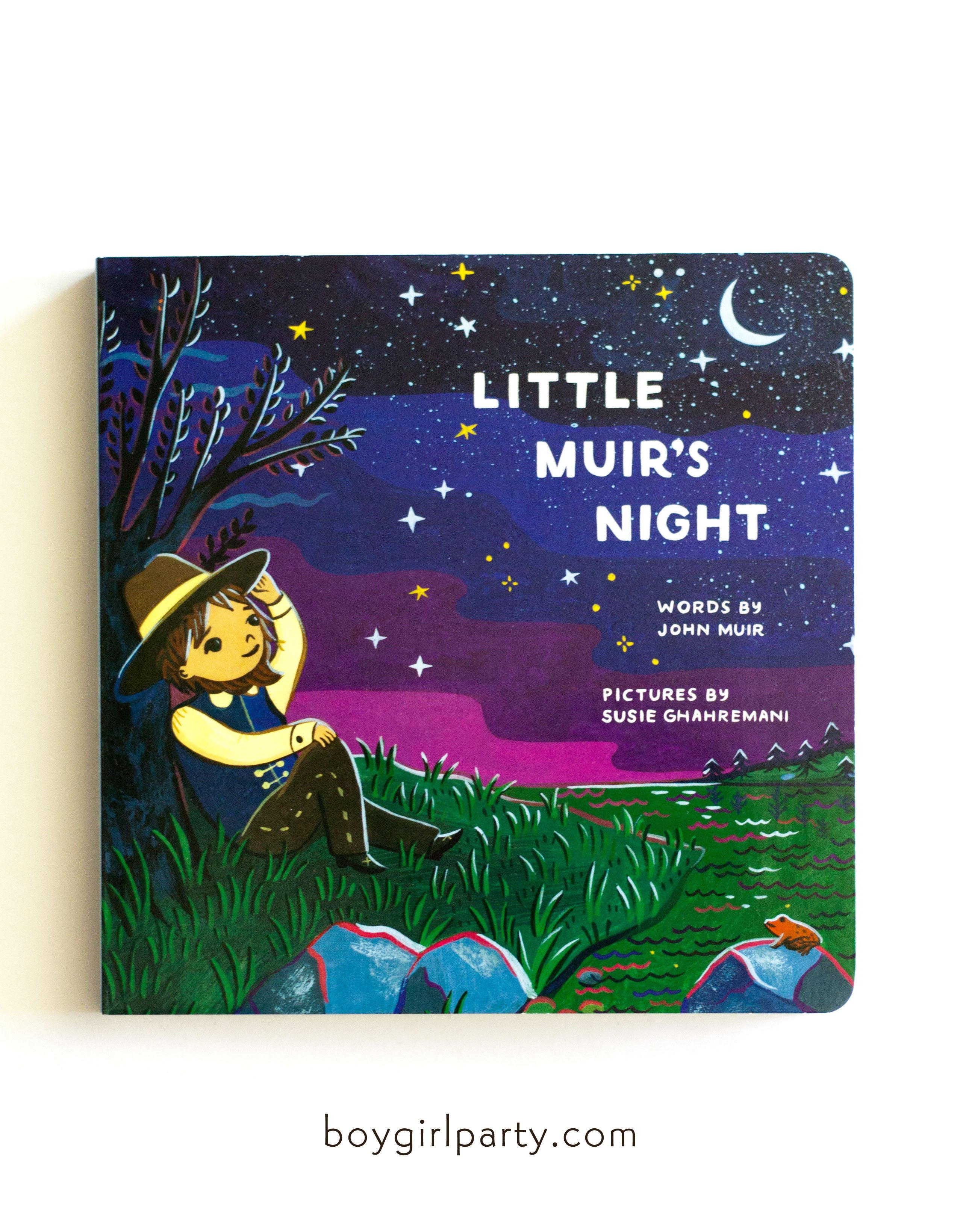 Image of Little Muir's Night: Bedtime Book for Kids illustrated by Susie Ghahremani
