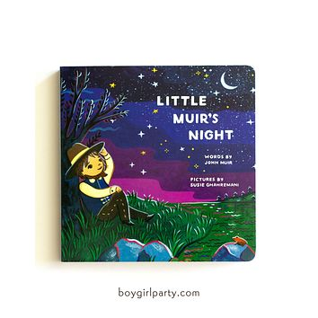 Little Muir's Night: Bedtime Book for Kids illustrated by Susie Ghahremani