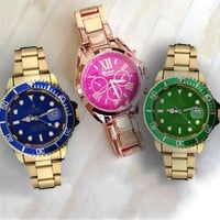 Rolex tide brand fashion men and women fashion watches B-SBHY-WSL
