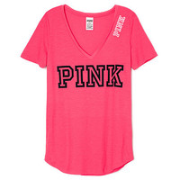 Perfect V-Neck - PINK - Victoria's Secret