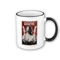 Bane and Batmobile Red Poster Coffee Mug from Zazzle.com