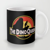 The Dino Queen Mug by Page394