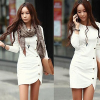 Winter Long Sleeve Casual Autumn Dress = 1931825604