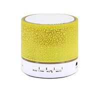Moonar A9 Smart LED Light Crack Mini Wireless Portable Bluetooth Stereo Speaker