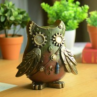 Accessory Decoration Resin Owl Home Decor [6282555078]