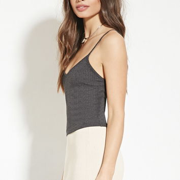 Ribbed Knit Cami   FOREVER 21 - 2000150302