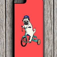 Funny Pug Riding iPhone 6S Case