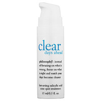 philosophy Clear Days Ahead™ Fast-Acting Salicylic Acid Acne Spot Treatment (0.5 oz)