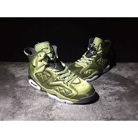 Air Jordan 6 Retro Pinnacle ¡°Saturday Night Live¡± Palm Green/Palm Green-Black AJ6 Sneakers