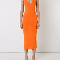 Dion Lee Midi Fitted Tank Dress - First Boutique - Farfetch.com