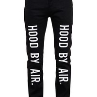Hood By Air Embroidered Slim Fit Jeans - Browns - Farfetch.com