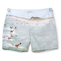 PRODUCT - Orlebar Brown - Bulldog Mid-Length Printed Swim Shorts - 395007 | MR PORTER