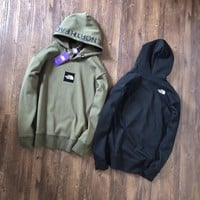 THE North Face Winter Hooded and velvet sweater M-XXL