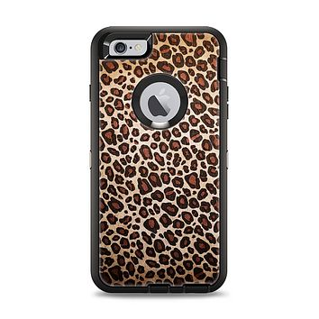The Vibrant Cheetah Animal Print V3 Apple iPhone 6 Plus Otterbox Defender Case Skin Set