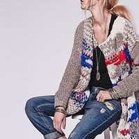 Free People Womens Fireworks Cardi - Multi Combo