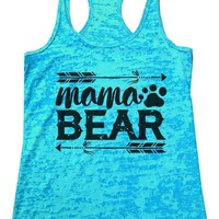 Mama BEAR Burnout Tank Top By Funny Threadz