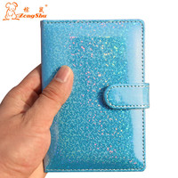 Zongshu patent leather PU passport bags ID Travel Passport Holder Passport Cover Card Passport Case