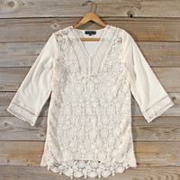 Low Rising Lace Tunic