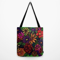 FLOWER POWER II Tote Bag by RokinRonda | Society6