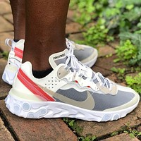 Nike Upcoming React Element 87 Fashion Men Women Breathable Sport Running Shoes Sneakers