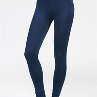 Navy High Waisted Workout Pants