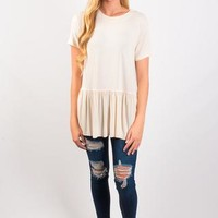 Happily Ever After Swing Top - Cream