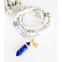 Mala Necklace for Stress Relief | Mala Beads | Healing Crystals