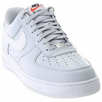Nike Men's Air Force 1 Basketball Shoes Pure Platinum/Pure Platinum/White  air force ones nike