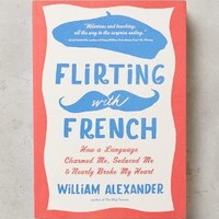 Flirting With French by Anthropologie in Pink Size: One Size Books
