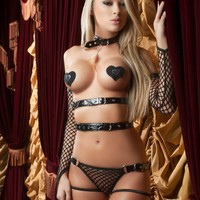Fishnet Fantasy Lingerie Set