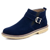 Mens Casual Ankle Sneaker Boots