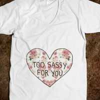 TOO SASSY FOR YOU 2