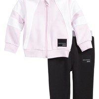 adidas Originals EQT Fleece Hoodie & Pants Set (Baby Girls) | Nordstrom
