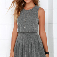 School House Frock Black and Ivory Dress