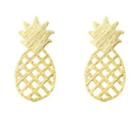 Tropical Pineapple Earrings