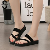 Women's Slippers - Women Summer Non-slip Platform Slippers