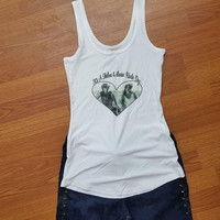 Last - minute - gift - gift - for - her - thelma - and - Louise -  PINUP - ROCKABILLY - RETRO - Vintage - style - tank - top