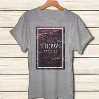 the 1975 band shirt the 1975 logo tshirt for men and women clothing S M L XL XXL