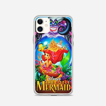 Ariel Tattoo Doodle iPhone 11 Case