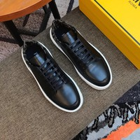 FENDI   Man Fashion Casual Shoes Men Fashion Boots fashionable Casual leather Breathable Sneakers