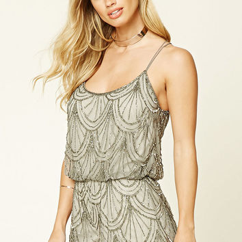 Angie Sequined Romper
