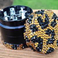 GRINDER -- MINIS Collection -- Natural Cheetah Print