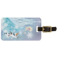 Elsa and Olaf - Icy Glow Travel Bag Tags