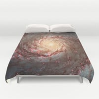 Duvet Cover, Galaxy Bedding Cover, Outer Space Bedroom Decor, Home Decor, Whirlpool Galaxy, King, Queen, Full