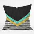 Allyson Johnson Mixed Aztec 1 Throw Pillow