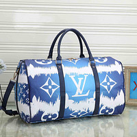LV Louis Vuitton classic large-capacity handbag travel bag men women shoulder messenger bag duffel bag Luggage Bag