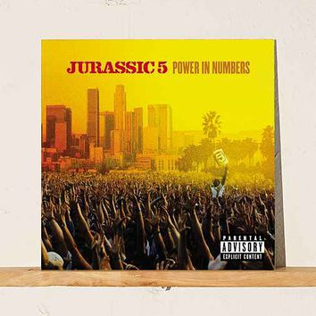 Jurassic 5 - Power In Numbers 2XLP